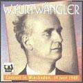 ヴィルヘルム・フルトヴェングラー/プフィッツナー: 「パレストリーナ」〜前奏曲、モーツァルト: 交響曲第40番、ブラームス: 交響曲第4番[FURT1021]