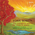 サイモン・クロフォード=フィリップス/Bowen: Complete Works for Viola & Piano / Lawrence Power(va), Simon Crawford-Philips(p) [CDA67651]