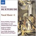 エマ・カークビー/Buxtehude:Vocal Music Vol.1 -O Frohliche Stunden BuxWV.84/O Dulcis Jesu BuxWV.83/etc:Emma Kirkby(S)/John Holloway(vn)/etc[8557251]