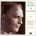 ブルーノ・ワルター/モーツァルト: 交響曲第35番「ハフナー」、マーラー: 交響曲第4番[TAH524]