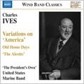アメリカ海兵隊バンド/Ives: Variations on