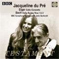 BBC交響楽団/Elgar: Cello Concerto; Bach: Cello Suites No.1 & 2 [SBT1388]