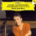 マリア・ジョアン・ピリス/Mozart: Piano Sonatas No.8, No.13, No.15