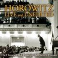 ウラディミール・ホロヴィッツ/1965年カーネギー・ホール ザ・ヒストリック・コンサート (アニヴァーサリー・エディション) [2CD+DVD][SICC-161]