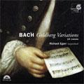 リチャード・エガー/J.S.Bach: Goldberg Variations, Goldberg Canons BWV1087 [HMU907425]