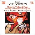 ロベルト・ディアス/ヴュータン:ヴィオラとピアノのための作品集[8555262]