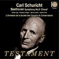 カール・シューリヒト/Beethoven: Symphony No.9 [SBT1409]