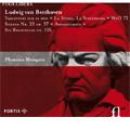 プラメナ・マンゴヴァ/ベートーヴェン: ピアノ・ソナタ第23番 「熱情」, 6つのバガテル Op.126, サリエリの歌劇「ファルスタッフ」からの主題による変奏曲 WoO.73 / プラメナ・マンゴヴァ(p)[MF