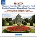 ケルン室内管弦楽団/Haydn: Concertos for Solo Instruments - Horn Concerto No.1, Keyboard Concerto Hob.Xviii-2, Double Concerto Hob.Xviii-6, Trumpet Concerto Hob.Viie-1[8570482]
