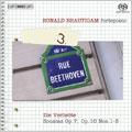 ロナルド・ブラウティハム/Beethoven: Piano Solo Works Vol.3 -Die Verliebte: Sonatas Op.7, Op.10-1-3 / Ronald Brautigam[BISSA1472]