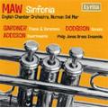 フィリップ・ジョーンズ・ブラス・アンサンブル/N.Maw: Sinfonia; J.Addison: Divertimento for Brass Quartet Op.9; J.Gardner: Theme and Variations Op.7; S.Dodgson: Sonata for Brass Quintet (1970, 1974) / Norman Del Mar(cond)