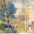 ライプツィヒ弦楽四重奏団/Debussy:String Quartet/Caplet:Conte Fantastique/Faure:String Quartet Op.121 (2/10-12/2006):Leipzig String Quartet/Marie-Pierre Langlamet(hp) [30714302]
