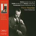 ピエール・フルニエ/Brahms: Cello Sonata No.2 Op.99; Kodaly: Sonata for Cello Solo Op.8; Debussy: Cello Sonata; Tchaikovsky: Variations on a Rococo Theme Op.33[C798091DR]
