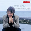 ジャン=エフラム・バヴゼ/Debussy: Complete Works for Piano Vol.3 -Children's Corner, Suite Bergamasque, Danse Bohemienne, etc / Jean-Efflam Bavouzet(p)[CHAN10467]
