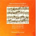 Heutling, Werner/J.S.Bach: Sonatas &Partitas for Violin Solo Vol.2 -Partitas No.2 BWV.1004, No.3 BWV.1006, Sonata No.3 BWV.1005 (5/2000) / Werner Heutling(vn)[GUT227]