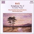 デイヴィッド・ロイド=ジョーンズ/Bax: Symphony No 2; November Woods[8554093]