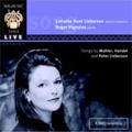 ロジャー・ヴィニョールズ/Lorraine Hunt Lieberson -Song Recital:Mahler/Handel/P.Lieberson (11/30/1998)[WHLIVE0013]