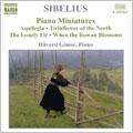 ホヴァルド・ギムス/Sibelius : Comp Piano Music Vol.4 , 4 Lyric Pieces / Gimse[8555363]