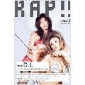 月刊ラップ presents RAP!! vol.1  [DVD+MAGAZINE]<完全生産限定盤>[GKRAP-016]