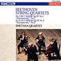 スメタナ四重奏団/ベートーヴェン:弦楽四重奏曲 第7番 ヘ長調 作品59の1《ラズモフスキー第1番》 第8番 ホ短調 作品59の2《ラズモフスキー第2番》[COCO-70678]