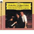 マルタ・アルゲリッチ/Prokofiev: Violin Sonatas No.1 Op.80, No.2 Op.94a, 5 Melodien Op.35b-1-Op.35b-5 (3,4/1991) / Gidon Kremer(vn), Martha Argerich(p)[4777434]