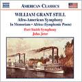 ジョン・ジーター/William Grant Still: Afro-American Symphony; In Memoriam; Africa (Symphonic Poem)[8559174]