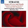 ヒルコ・ドゥムノ/R.Strauss: Songs of Love and Death - Heimliche Aufforderung Op.27-3, O Warst du Mein Op.26-2, etc (7/25-27/2006) / Hedwig Fassbender(Ms), Hilko Dumno(p)[8570297]