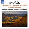 ボルティモア交響楽団/Dvorak: Symphony No.9, etc / Marin Alsop(cond), Baltimore Symphony Orchestra  [8570714]
