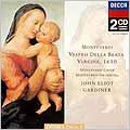 ジョン・エリオット・ガーディナー/モンテヴェルディ:聖母マリアのための夕べの祈り(晩課)1610年 [UCCD-3384]