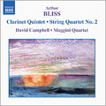 Bliss:Chamber Music Vol.3[String Quartet No. 2/Clarinet Quintet]:David Campbell[8557394]