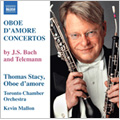 Thomas Stacy/J.S.Bach: Oboe d'amore Concertos BWV 1053, 1055; Telemann: Oboe d'amore Concertos, TWV 51-G3, 51-A2 / Thomas Stacy(ob), Kevin Mallon(cond), Toronto Chamber Orchestra [8570735]