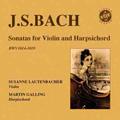スザーネ・ラウテンバッハー/J.S.Bach: Sonatas for Violin and Harpsichord BWV.1014-1019 / Susanne Lautenbacher, Martin Galling [MC125]