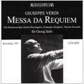 Verdi : Messa da Requiem (11/17/1958), Te Deum (4/1/1956) / Georg Solti(cond), WDR SO & Chorus, etc