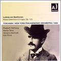 アルトゥーロ・トスカニーニ/Beethoven: Missa Solemnis Op.123, Triple Concerto, Coriolan Overture / Arturo Toscanini, NYP, etc[ARPCD0435]