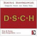 トリオ・ディ・パルマ/Shostakovich: Piano Trios No.1 Op.8, No.2 Op.67, 7 Romances on Verses by Alexander Blok Op.127 / Trio di Parma, Julia Korpacheva(S)[STR33706]