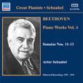 アルトゥール・シュナーベル/Comp Beethoven Sonatas Society Rec V4[8110756]
