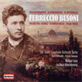 F.Busoni: Orchestral Works, Chamber Music, Piano Music / Various Artists[49576]
