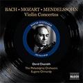 ダヴィド・オイストラフ/J.S.Bach:Violin Concerto BWV.1042/Mozart:Violin Concerto No.4/Mendelssohn:Violin Concerto Op.64 (12/24/1955):David Oistrakh(vn)/Eugene Ormandy(cond)/Philadelphia Orchestra[8111246]