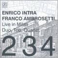 Enrico Intra/Live In Milan - Duo, Trio, Quartet[ALBCD-6]