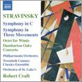 Craft, Robert/Twentieth Century Classics Ensemble/Stravinsky: 1-3 Octet, 4-6 Concerto in E flat(Dumbarton Oaks), etc / Robert Craft(cond), Twentieth Century Classics Ensemble, Orchestra of St. Luke's, Philharmonia Orchestra [8557507]