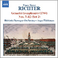 ヘルシンキ・バロック管弦楽団/F.X.Richter: Grandes Symphonies No.4, No.5, No.27, No.59, No.69, No.82 / Aapo Hakkinen, Helsinki Baroque Orchestra[8570597]