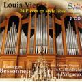 ジョルジュ・ベソネ/Vierne: 24 Pieces en Style Libre Op.31 / Georges Bessonnet(org) [SYR141417]