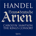 Handel :German Arias & Oboe Sonatas -Die Ihr Aus Dunkeln Gruften HWV.208/In den Angenehmen Buschen HWV.209/etc:Carolyn Sampson(S)/Alexandra Bellamy(ob)/King's Consort