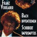 フランツ・フォーラバー/J.S.Bach: Inventions; Schubert: Impromptus D.890 / Franz Vorraber(p)[CTH2547]