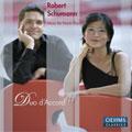 デュオ・ダコール/Schumann:Music for Piano Duo:Bilder Aus Osten Op.66/Andante &Variation Op.46/etc:Duo D'Accord[OC577]