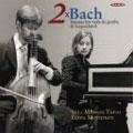 Elina Mustonen/2 X BACH:C.P.E.BACH:SONATA FOR HARPSICHORD & VIOLIN H.502/J.S.BACH:SONATA FOR VIOLA DA GAMBA & HARPSICHORD BWV.1029/ETC:VELI-MARKUS TAPIO(gamb)/ELINA MUSTONEN(cemb) [ABCD217]
