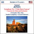 シアトル交響楽団/S.Jones: Symphony No.3