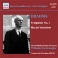ヴィルヘルム・フルトヴェングラー/W.Furtwangler -Commercial Recordings 1940-50 Vol.5 -Brahms:Symphony No.1 Op.68(11/17-20/1947)/St. Anthony Variations -Haydn(3/30, 4/2/1949):VPO[8110998]