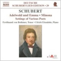 フェルディナント・フォン・ボトマー/Schubert: Lied-Edition Vol.29 - Settings of Various Poets / Ferdinand von Bothmer(T), Ulrich Eisenlohr(p)[8570838]