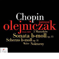 TOWER RECORDS ONLINEで買える「ヤヌシュ・オレイニチャク/Chopin: Piano Sonata No.2 Op.35, Scherzo No.2 Op.31, 5 Mazurkas, Nocturne Op.72, etc / Janusz Olejniczak[NIFCCD008]」の画像です。価格は2,422円になります。